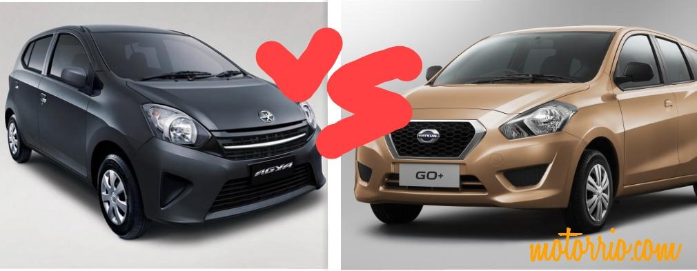 Galau…Datsun GO+ atau Toyota Agya yah??   motorrio