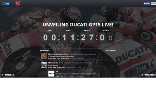 Ducati launching
