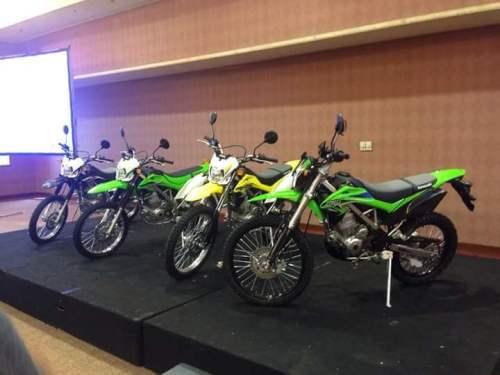 Kawasaki KLX150 2015