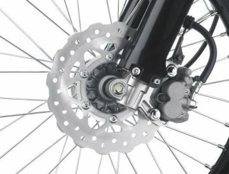 klx2015 front brake