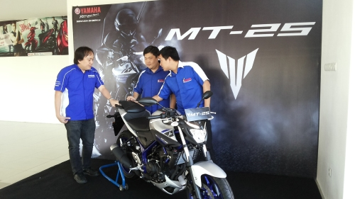 Launching Yamaha MT25 Surabaya