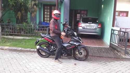 Tes ride Yamaha MX King
