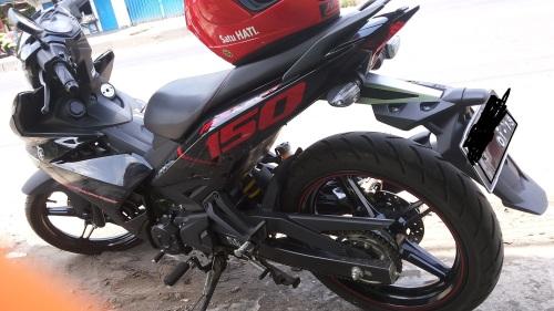 Yamaha MX King rear