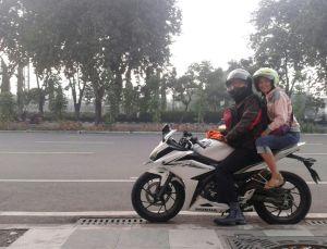 CBR riding