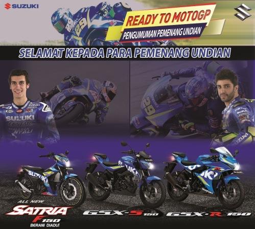 Pemenang Suzuki Ready To MotoGP 2017 (2)