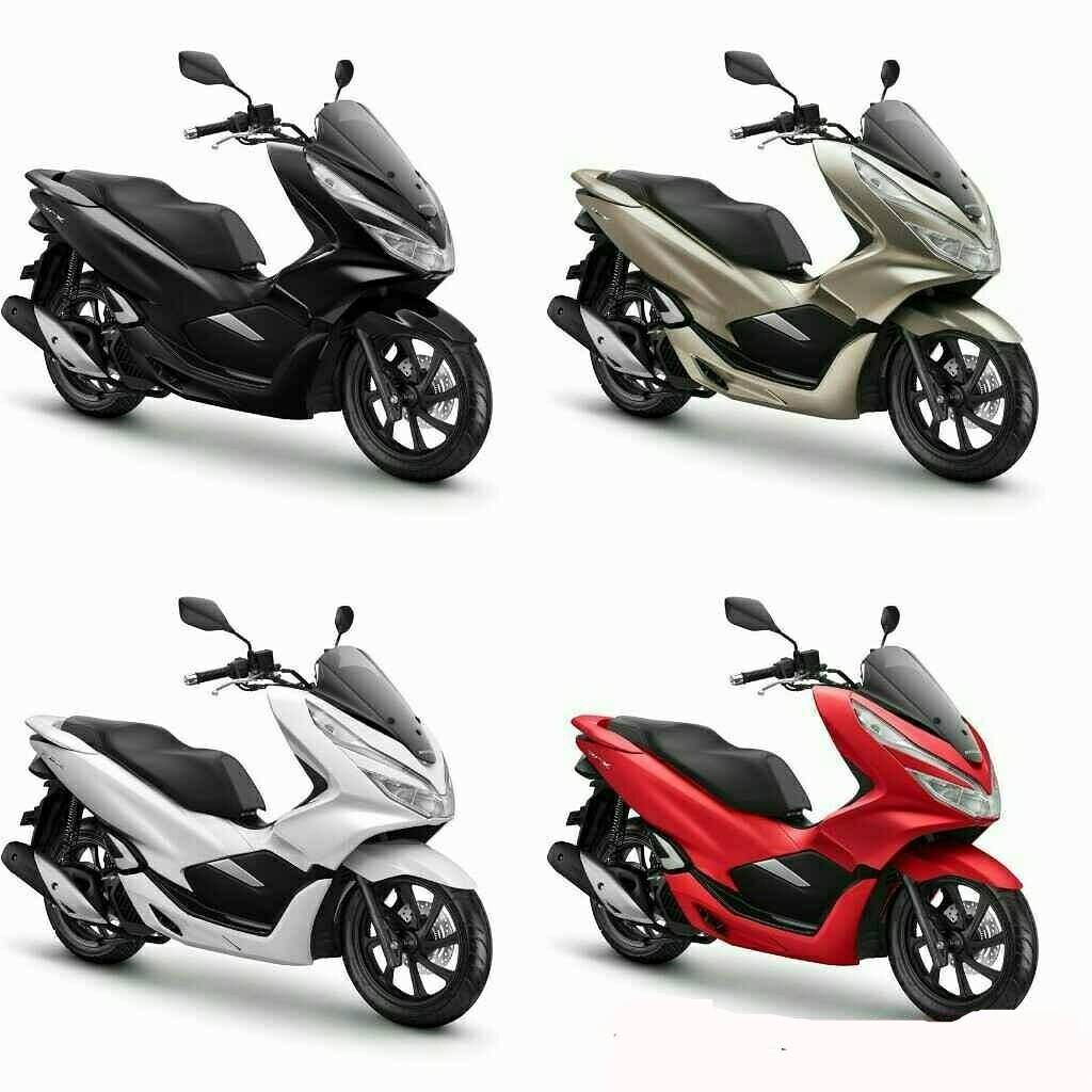 Pilihan Warna Honda Pcx 150 2018 Sporty Tapi Elegan Motorrio